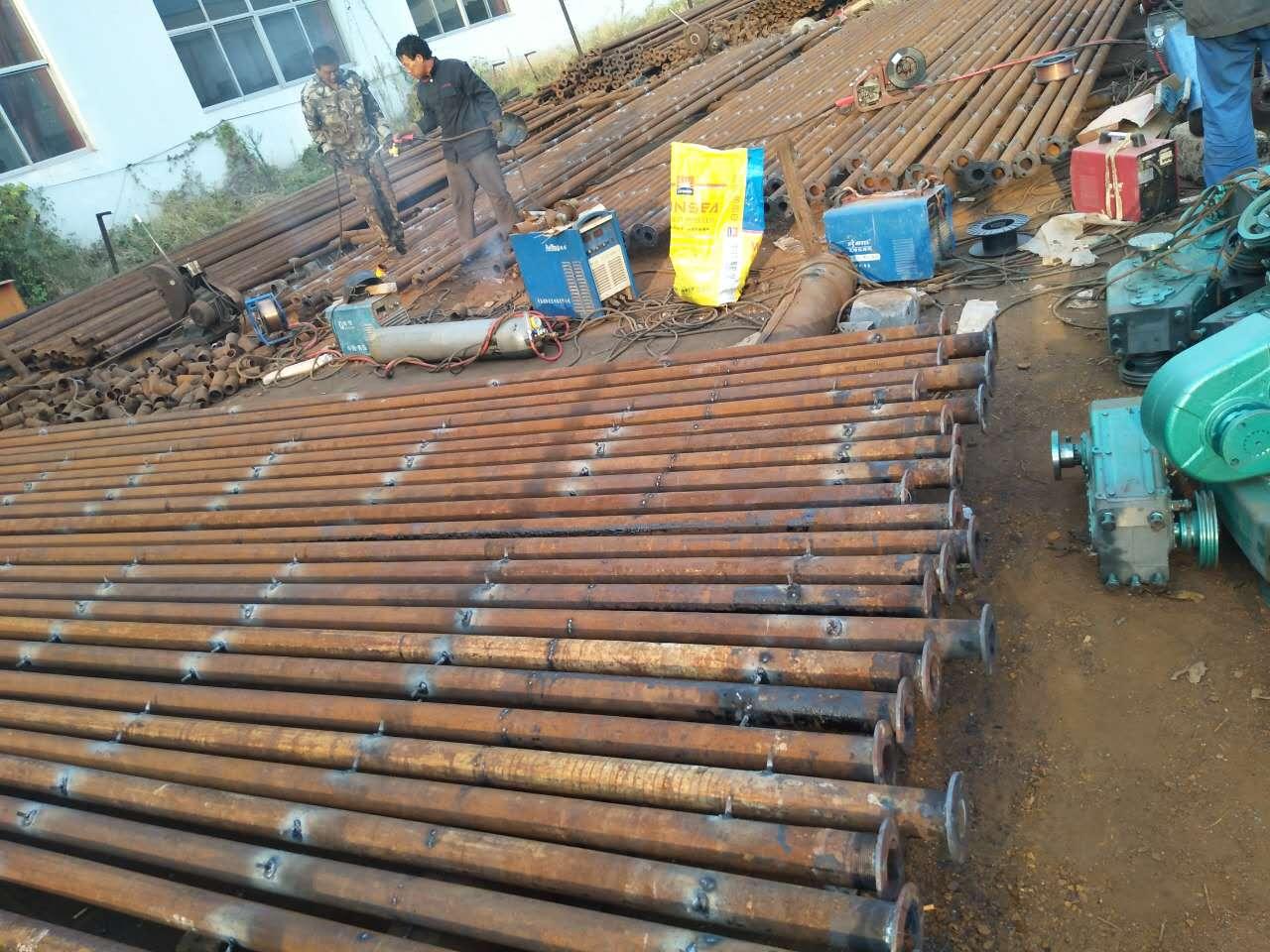 卷杆支撑杆系统焊接