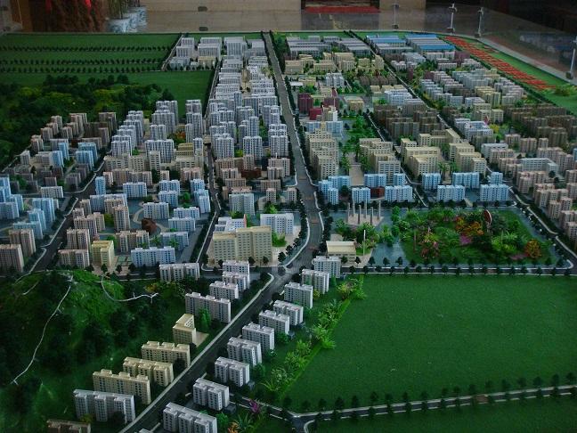 广西建筑沙盘模型,南宁区域规划模型