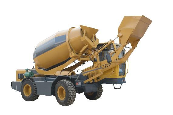 移动式混凝土搅拌车-科诺迪尔机械高性价1.2方混凝土搅拌罐车出售