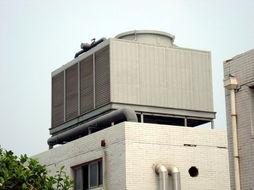 方形横流式冷却塔图片-供应专业节能的方形横流式冷却塔