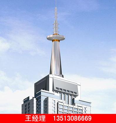 楼顶通讯塔生产厂家——河北口碑好的楼顶通讯塔批发