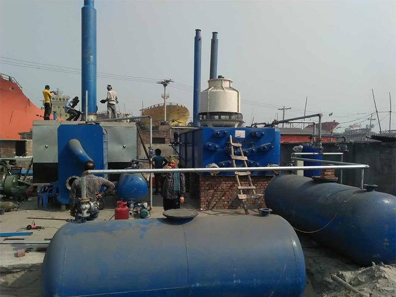 为您推荐超实惠的环保炼油设备——焦作废轮胎炼油设备生产厂家