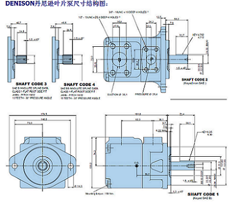 丹尼逊液压泵,青岛哪里有好的叶片泵