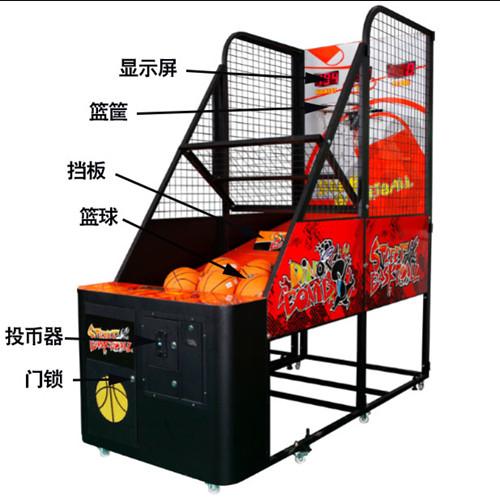 广州新款成人篮球机推荐,抛售篮球机