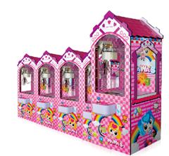 供应广东高质量的缤纷乐园儿童娃娃机,缤纷乐园儿童娃娃机尺寸