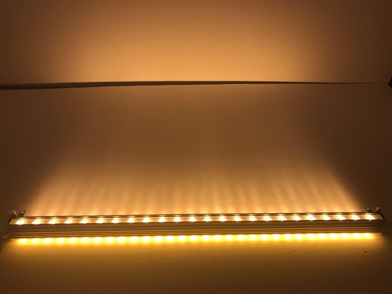 三面发光洗墙灯多角度射灯轮廓转角双面投射洗墙灯