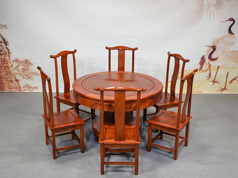 花梨明式圆桌多少钱|防城港信誉好的花梨1.2米明式圆桌供应商是哪家
