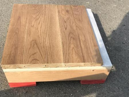专业供应抚顺篮球馆地板|沈阳柞木地板就来抚顺连生地板厂