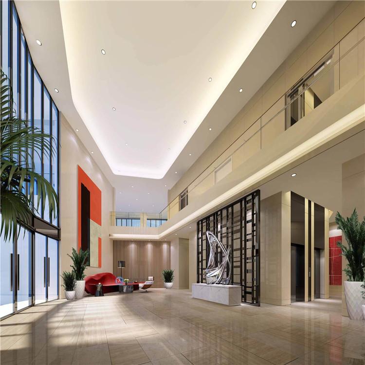 郑州酒店装修中大堂装修的四个原则 郑州酒店大堂装修公司