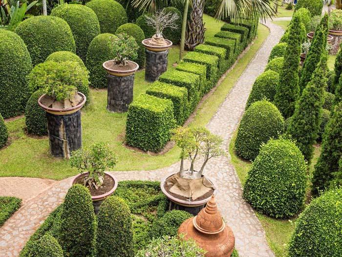 呼兰园林景观|靠谱的哈尔滨园林景观养护利达花卉行提供