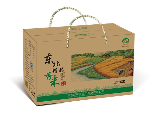 優良的大米包裝出售|哈爾濱禮品包裝