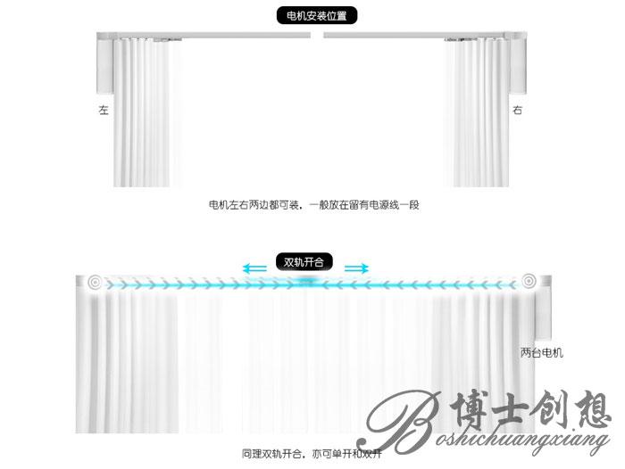 哈尔滨电动滑轨|哈尔滨电动窗帘滑轨|哈尔滨遥控窗帘电动滑轨
