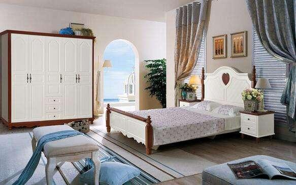 临沂实木床价格 力荐艺菲雅家具实惠的地中海家具