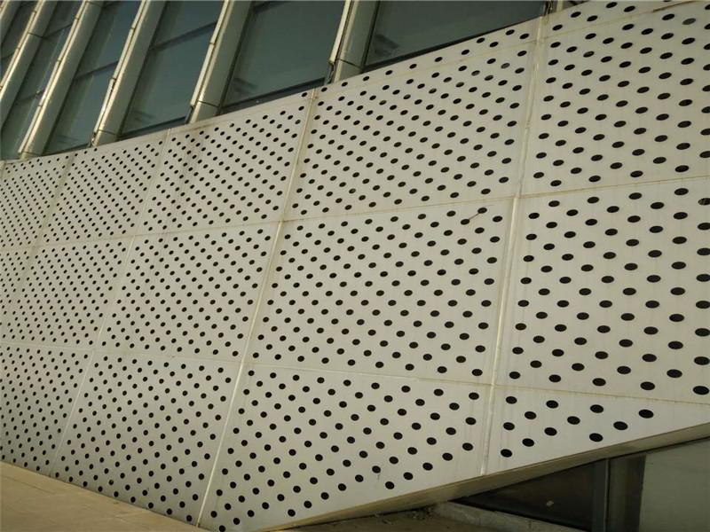 铝板穿孔吸音装饰板--安平县万诺丝网