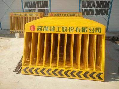 郑州施工电梯防护门 认准浩威施工电梯防护门厂家 实力强