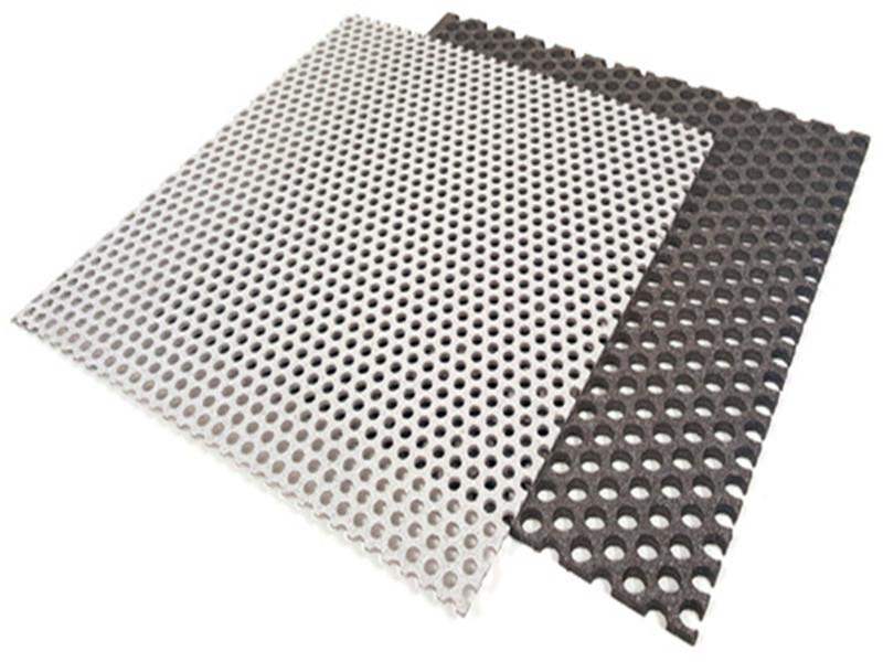 几何图形冲孔铝板--安平县万诺丝网