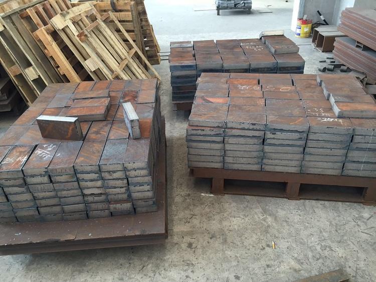 廣東45#鋼板切割方塊-靠譜的特厚鋼板切割服務商當屬無錫鑫恒鑫