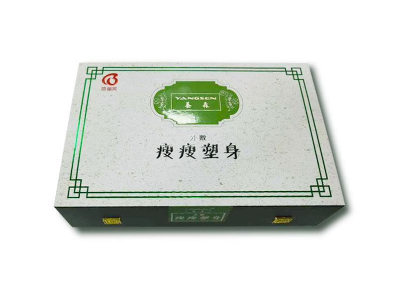 瘦瘦塑身產品產品包裝盒定製