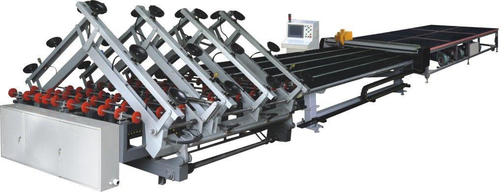全自动CNC玻璃切割流水线_山东价格适中的玻璃全自动切割机流水线供应