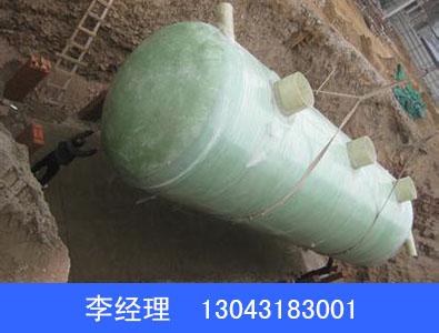 小型玻璃钢化粪池供应商金禾环保设备小型玻璃钢化粪池定制生产