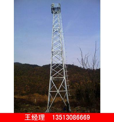 加工四柱角钢监控塔声誉好的四柱角钢监控塔供应商当属润达