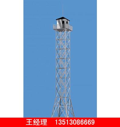 钢管监控塔生产厂家-润达供应性价比高的钢管监控塔