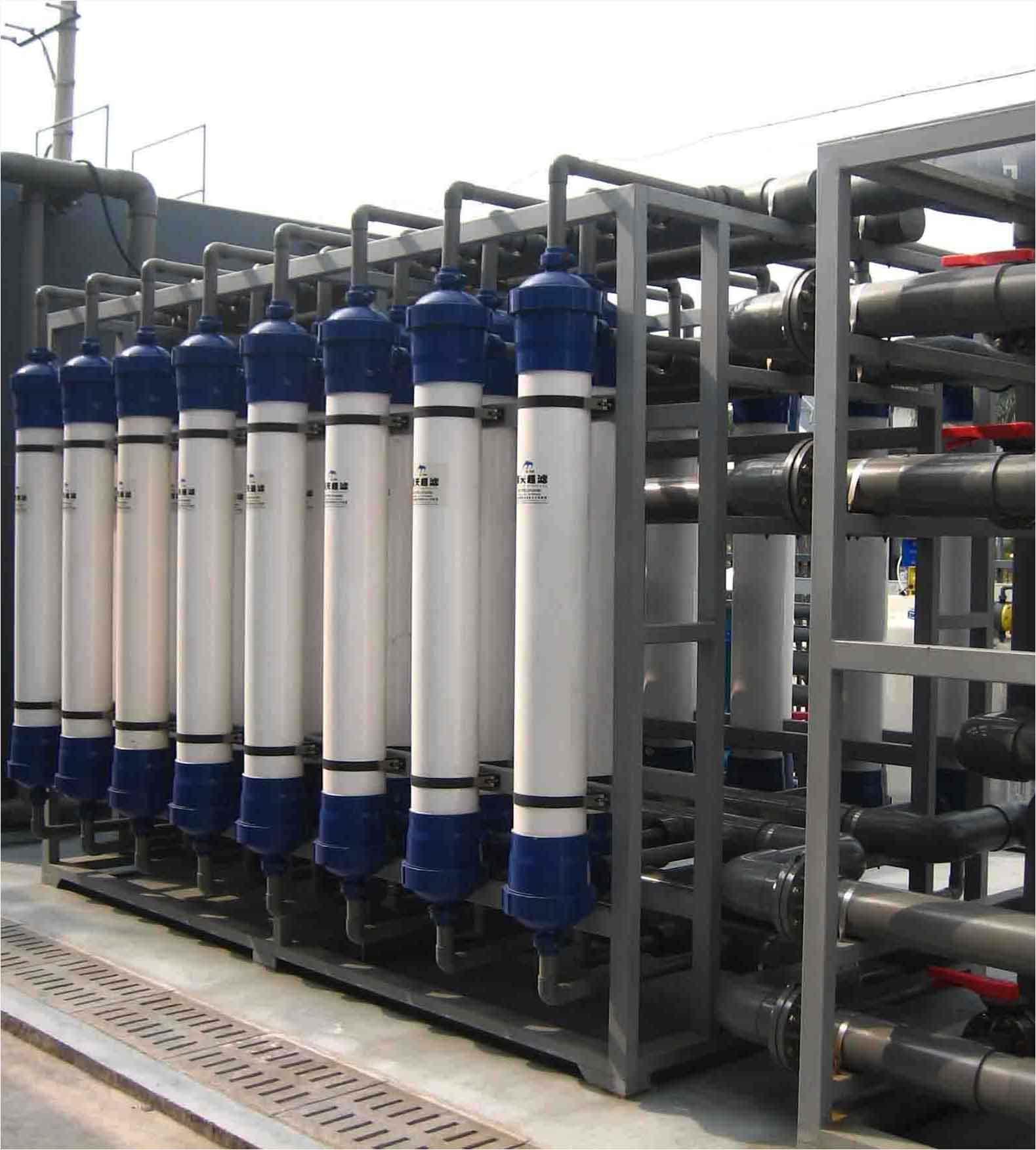 大型海水淡化生活用水二次净化水处理设备 超滤设备 定制请联系