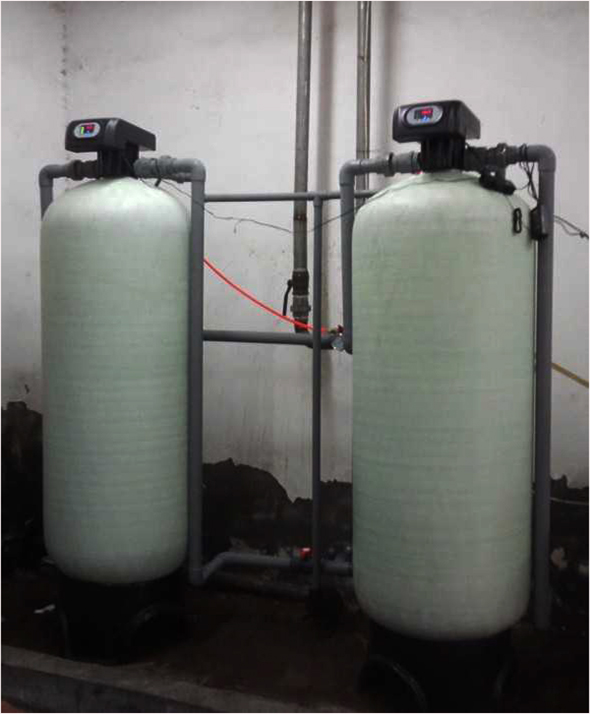 全自動在線控制水過濾器 地下水去黃去腥沙碳過濾設備歡迎咨詢
