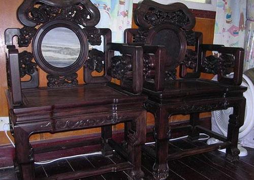 虹口区回收老红木家具