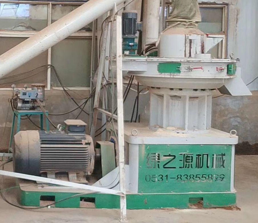 二手520木屑顆粒機,具有口碑的二手制粒機報價