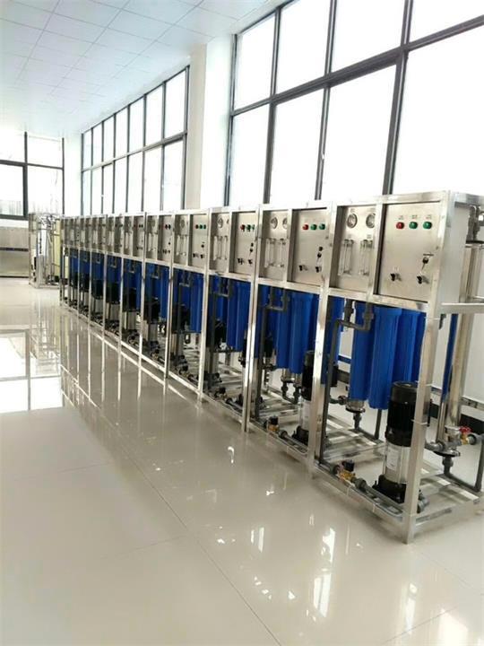 小型去离子水处理 批量生产价格优惠含反渗透膜PP棉芯厂家直销