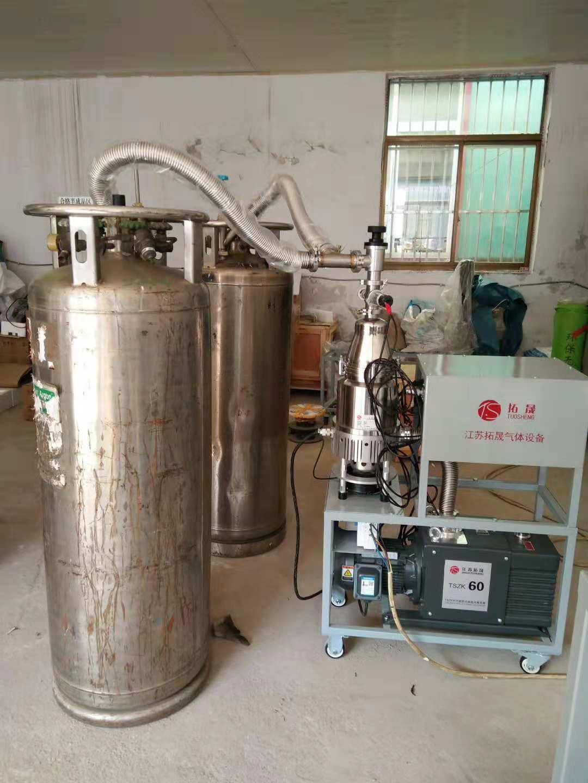 便携式液态气瓶储罐槽车抽真空设备