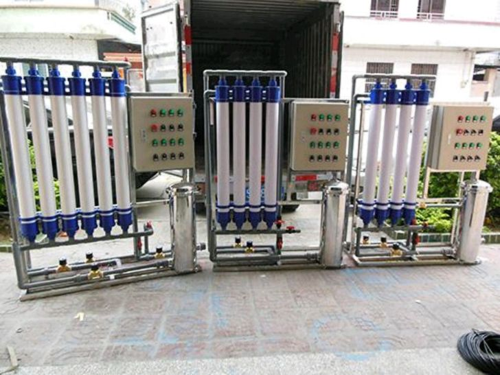中水回用設備主機 定制占地面積小的超濾設備 廠家優惠