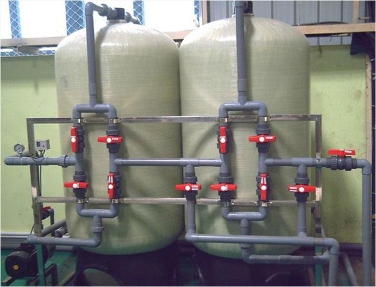 除鐵錳過濾器 定制地下水凈化過濾水處理系統去除鐵錳水過濾設備