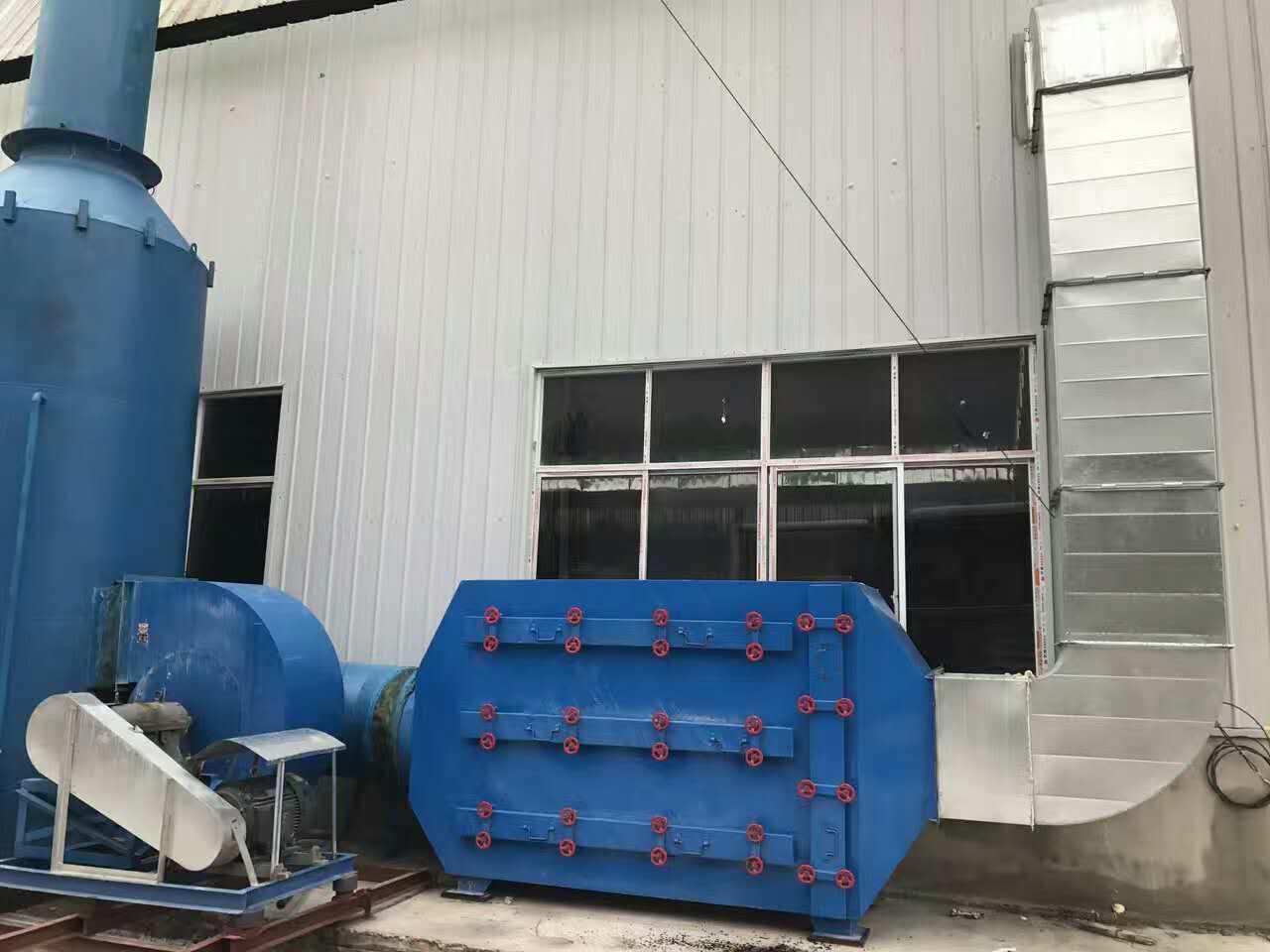 南宁轮胎厂恶臭废气处理技术炼胶车间异味废气净化装置