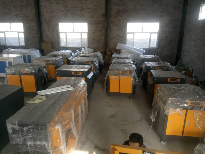 山西塑料造粒厂苯类废气解决方案 塑料厂烟气异味净化装置