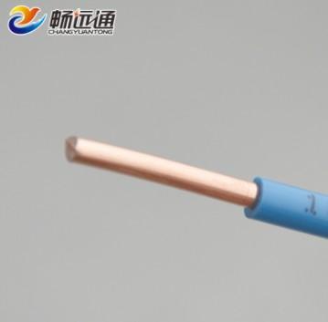电线家装电线 家用电线国标100米铜芯线 bv6平方塑铜线