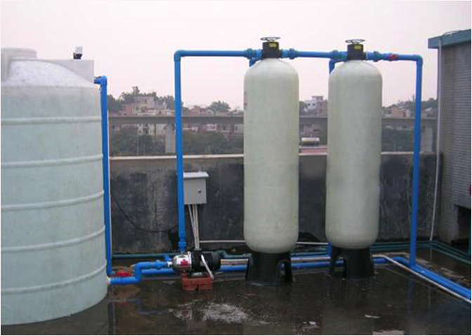 农村家用沙碳过滤器 净化水中杂质去黄去腥水处理过滤罐
