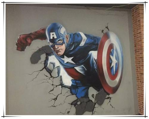 广西南宁墙绘公司 南宁具有口碑的墙体彩绘-柳州墙绘