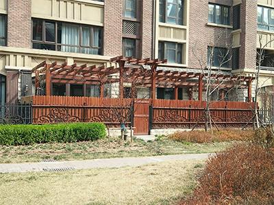 经典花架栅栏优惠-供应各种规格经典花架栅栏