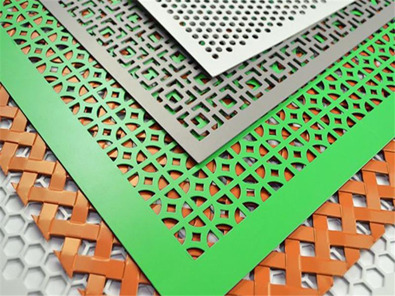 异形装饰穿孔铝板--安平县万诺丝网