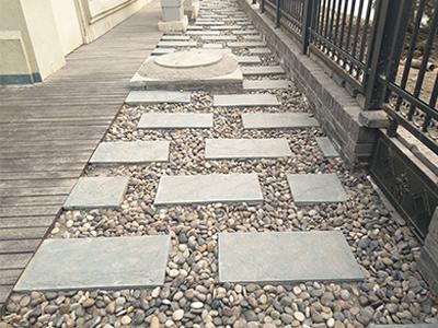 花园施工_出售天津优良的经典石材路面