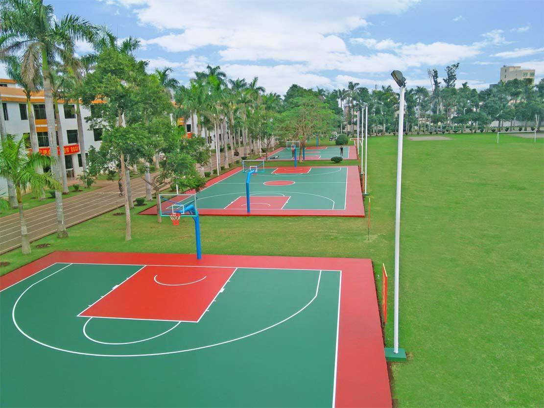 界首市硅PU籃球場地造價,安徽熱門硅PU籃球場施工公司
