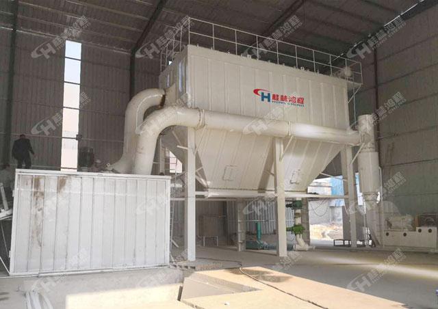 安徽碳酸钙超细制粉机HCH1395石墨微粉环辊磨粉机