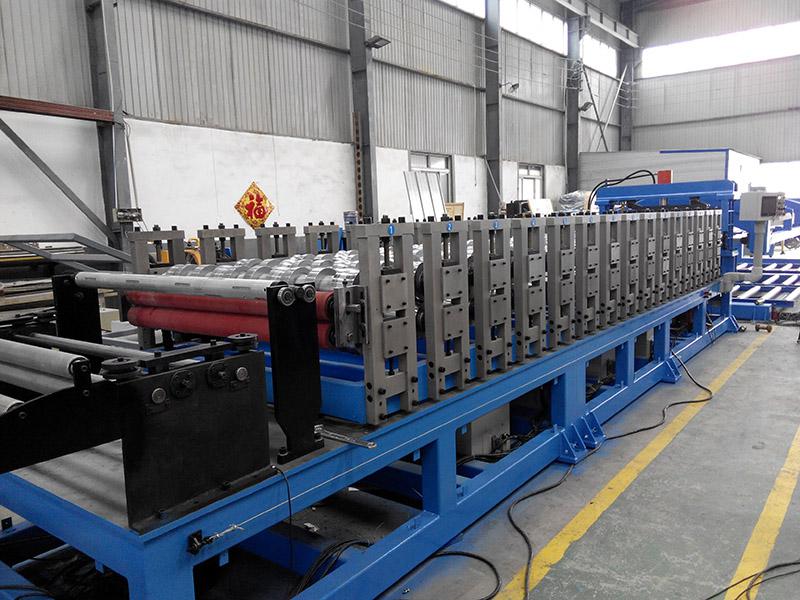 高性能钢结构板材生产线