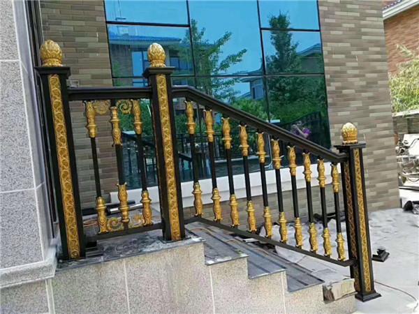 铝艺栏杆工厂|提供专业的喷涂加工