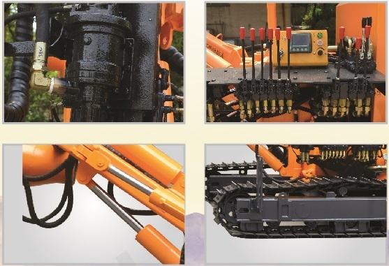 湖南KG320露天履带式一体钻机爆破钻机可信赖|长沙品种齐全的湖南KG320露天履带式一体钻机爆破钻机推荐