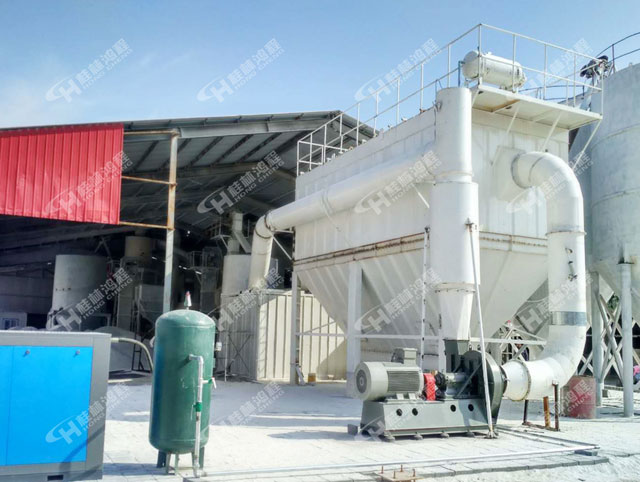 云南1250方解石生产线HCH1395环辊超细微粉磨粉机
