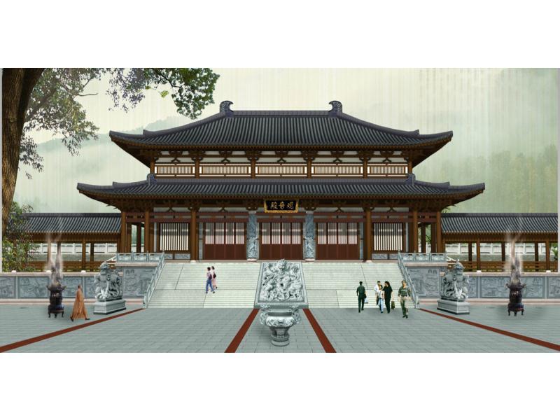 寺廟祠堂設計_焦點石雕