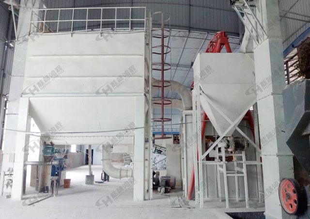 浙江600目竹炭粉磨设备HCH780滑石粉超细微粉环辊磨粉机